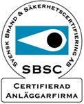 Certifierad anläggarfirma